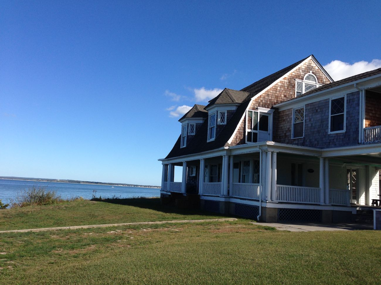 The Bluff House in Southampton