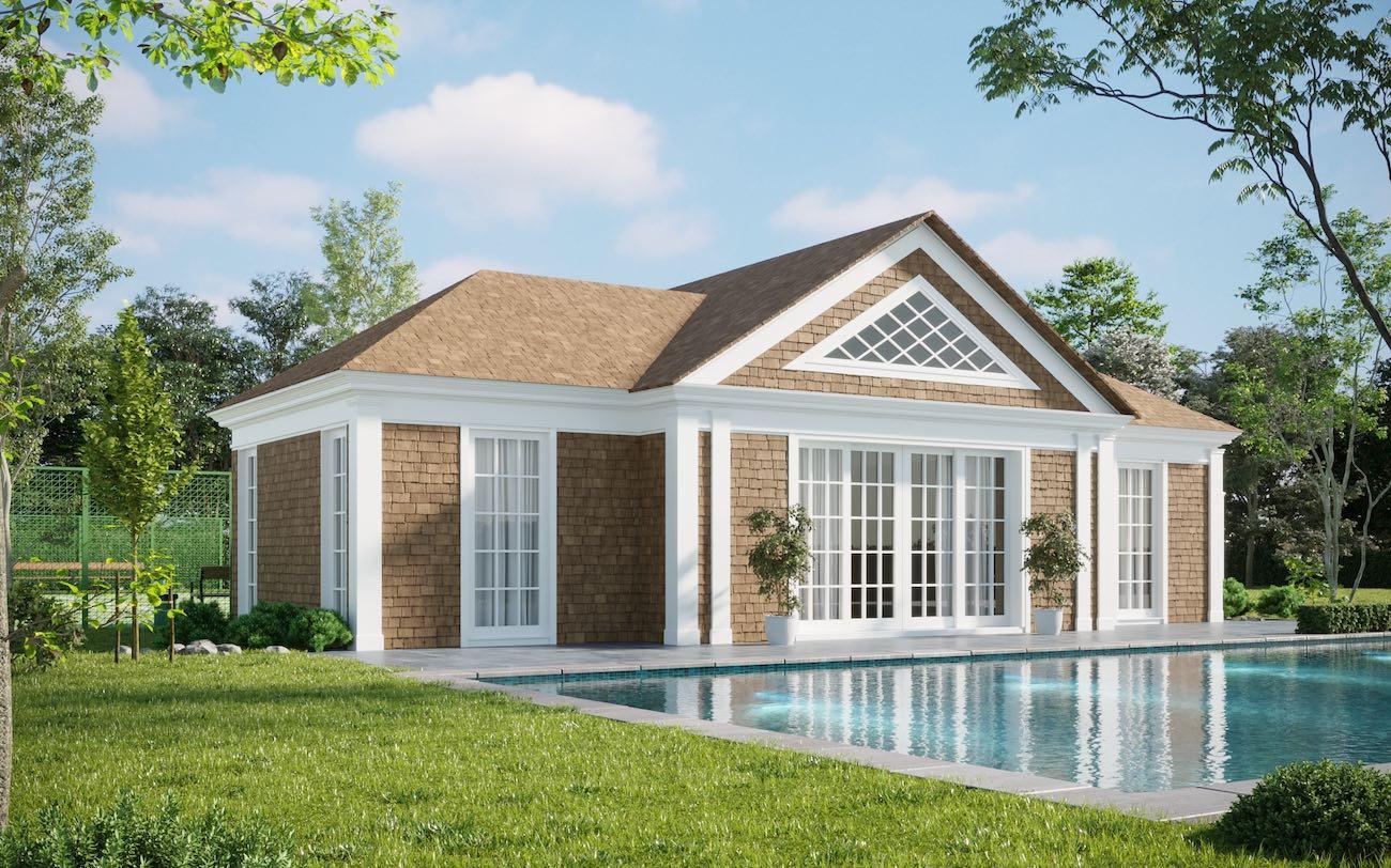 Southampton Pool Houses and Pergola